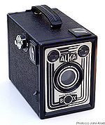 Vredeborch: Alka Box camera