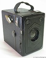 Zeiss Ikon: Baldur Box 51/2 camera