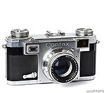 Zeiss Ikon: Contax IIa Type 2 (Color Dial) camera