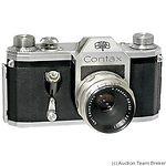 Zeiss Ikon VEB: Contax D (small D) camera