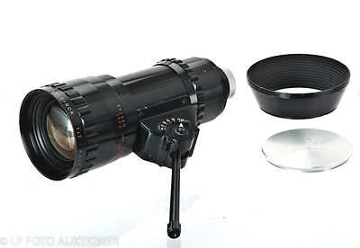 Berthiot, Som: 17-85mm f2 Pan-Cinor (C-mount) camera