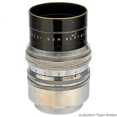 Berthiot, Som: 55mm (5.5cm) f1.5 (M39) camera