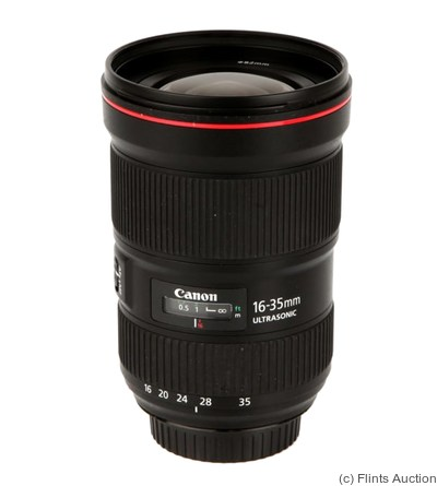 Canon: 16-35mm f2.8 EF L III camera