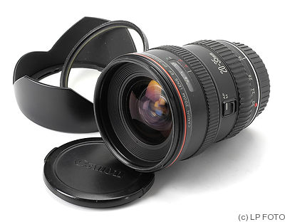Canon: 20-35mm f2.8 EF L camera