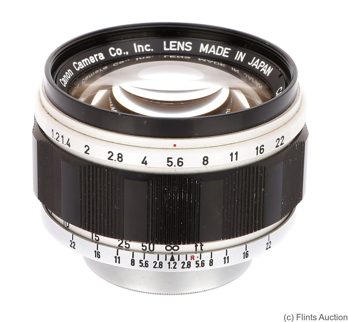 Canon: 50mm (5cm) f1.2 (SM, black/chrome) camera