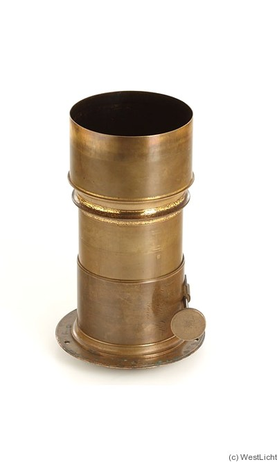 Derogy: Petzval (brass, 500mm focal len, 10cm dia) camera