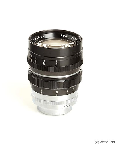 Fuji Optical: 100mm (10cm) f2 Fujinon (M39) camera