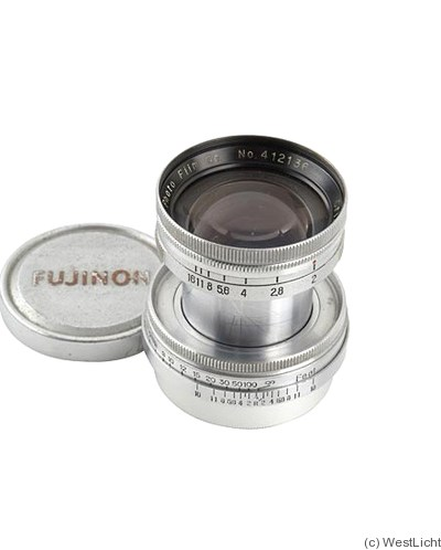 Fuji Optical: 50mm (5cm) f2 Cristar (M39) camera