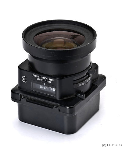 Fuji Optical: 80mm (8cm) f5.6 Fujinon GX (GX680) camera