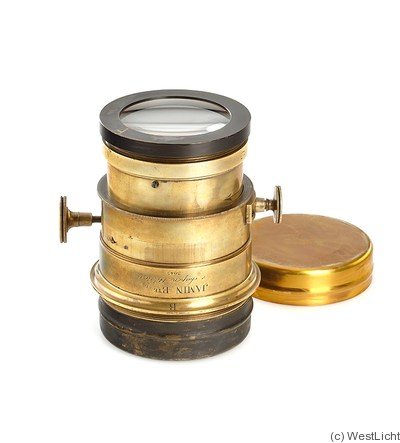 Jamin: Triple Lens (brass, 14.5cm length) camera
