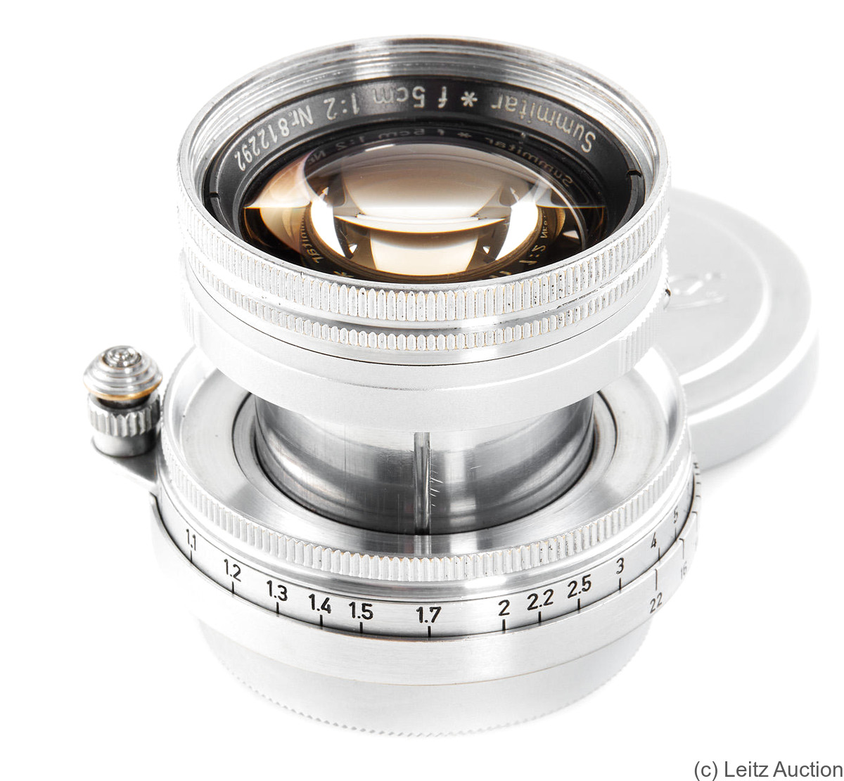 Leitz: 50mm (5cm) f2 Summitar* (SM, Summicron prototype) camera