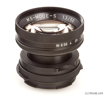 MS Optical: 50mm (5cm) f1.3 MS-Mode-S (Nikon RF / M39) camera