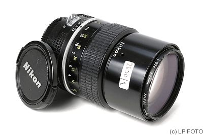 Nikon: 135mm (13.5cm) f2.8 Nikkor (AI) camera