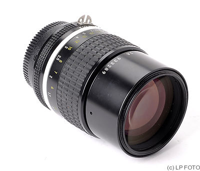 Nikon: 135mm (13.5cm) f2.8 Nikkor (AIS) camera