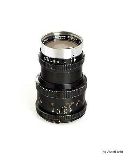 Nikon: 135mm (13.5cm) f3.5 Nikkor-Q (BM) camera