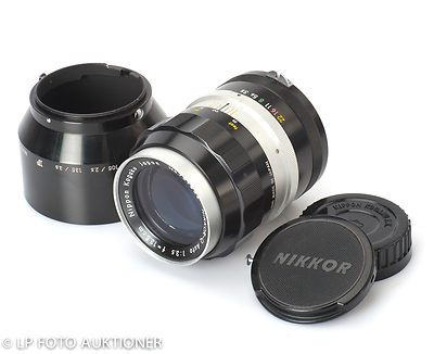 Nikon: 135mm (13.5cm) f3.5 Nikkor-Q Auto camera