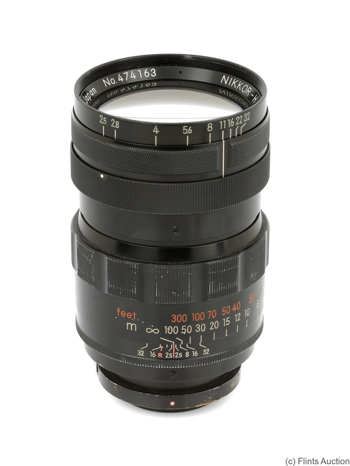 Nikon: 180mm (18cm) f2.5 Nikkor-H (BM) camera