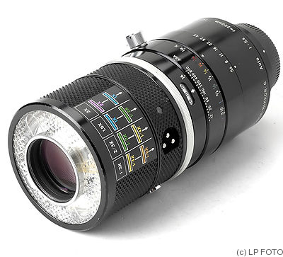 Nikon: 200mm (20cm) f5.6 Medical-Nikkor.C Auto camera