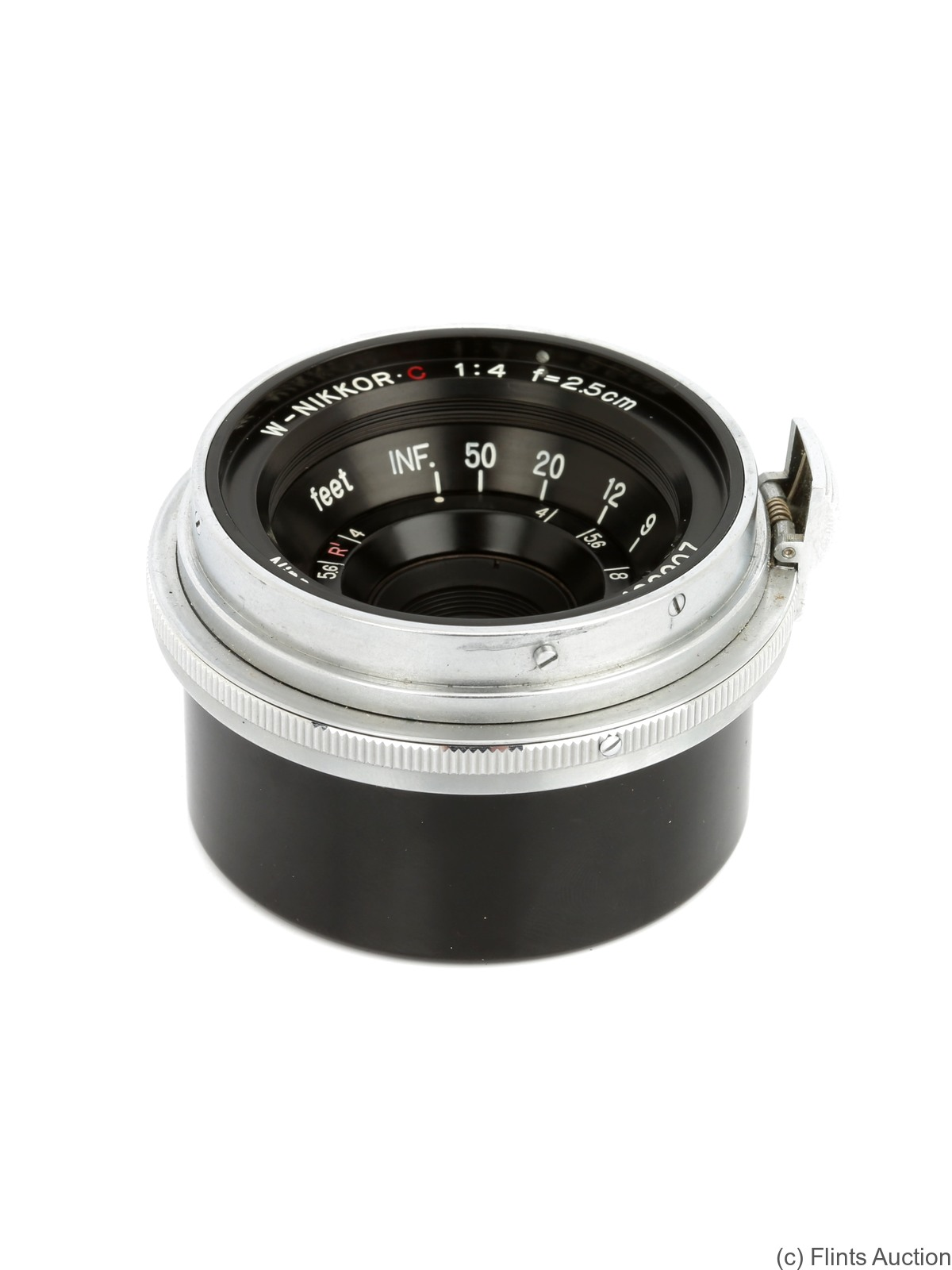 Nikon: 25mm (2.5cm) f4 W-Nikkor.C (BM) camera