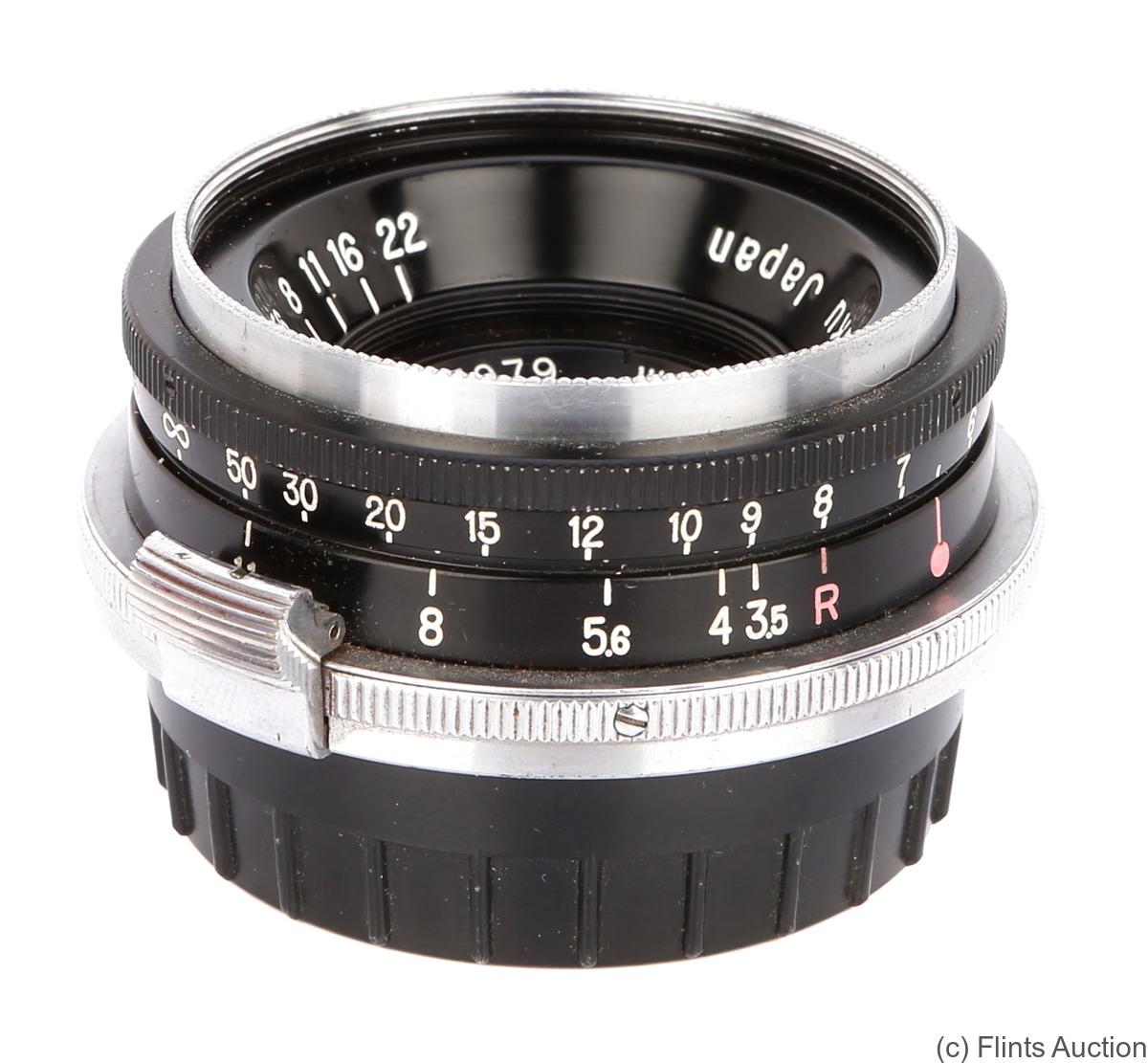 Nikon: 28mm (2.8cm) f3.5 W-Nikkor.C (BM, black) camera