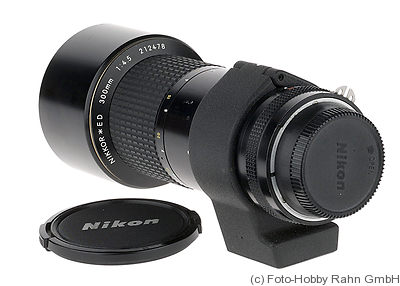 Nikon: 300mm (30cm) f4.5 Nikkor IF ED* camera