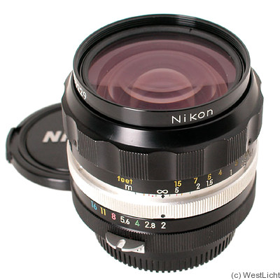 Nikon: 35mm (3.5cm) f2 Nikkor-O.C camera
