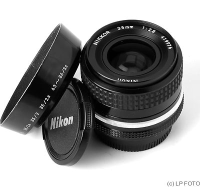 Nikon: 35mm (3.5cm) f2.8 Nikkor (AI) camera