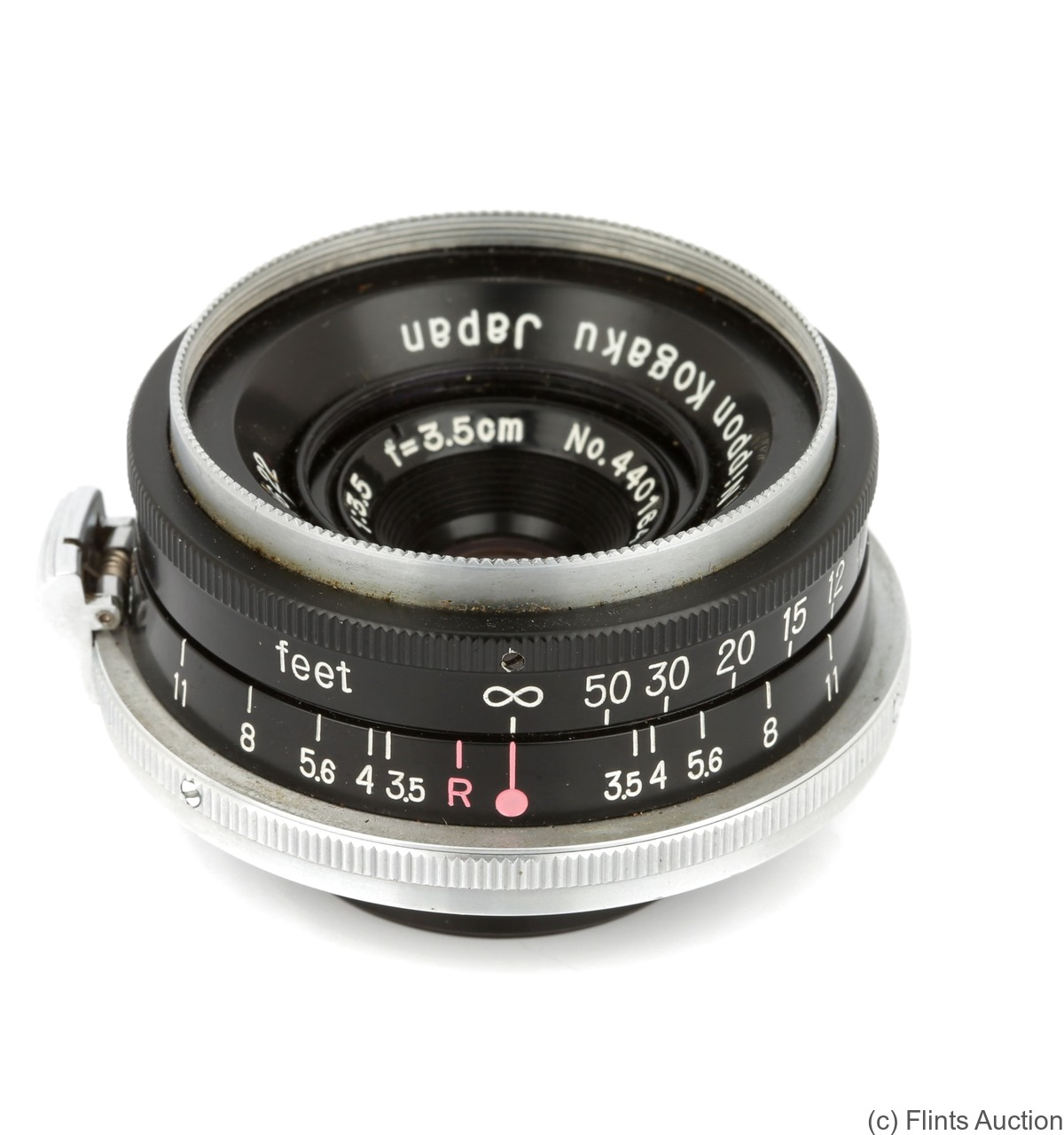 Nikon: 35mm (3.5cm) f3.5 W-Nikkor C (BM, black) camera