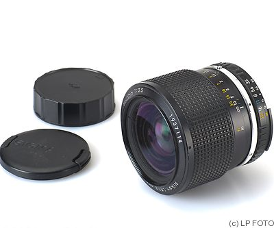 Nikon: 36-72mm f3.5 Zoom E (AIS) camera