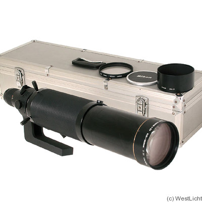 Nikon: 360-1200mm f11 Zoom-Nikkor*ED (AIS) camera