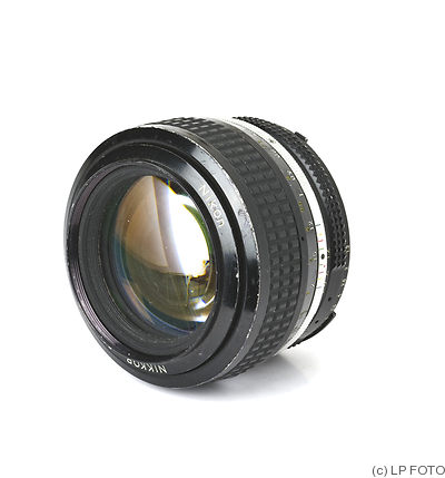 Nikon: 50mm (5cm) f1.2 Nikkor (AI) camera