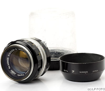Nikon: 50mm (5cm) f1.4 Nikkor-S Auto camera