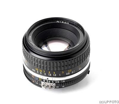 Nikon: 50mm (5cm) f1.8 Nikkor (AIS, 1981) camera