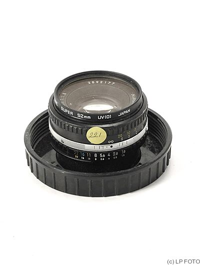 Nikon: 50mm (5cm) f1.8 Series E (AIS) camera