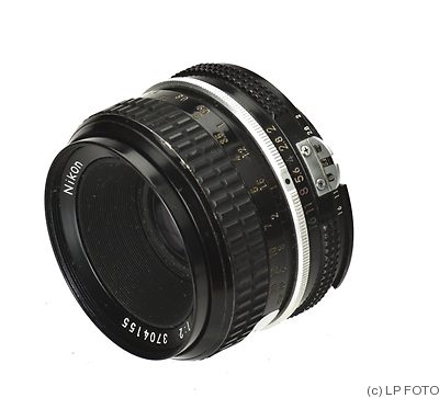 Nikon: 50mm (5cm) f2 Nikkor (AI) camera