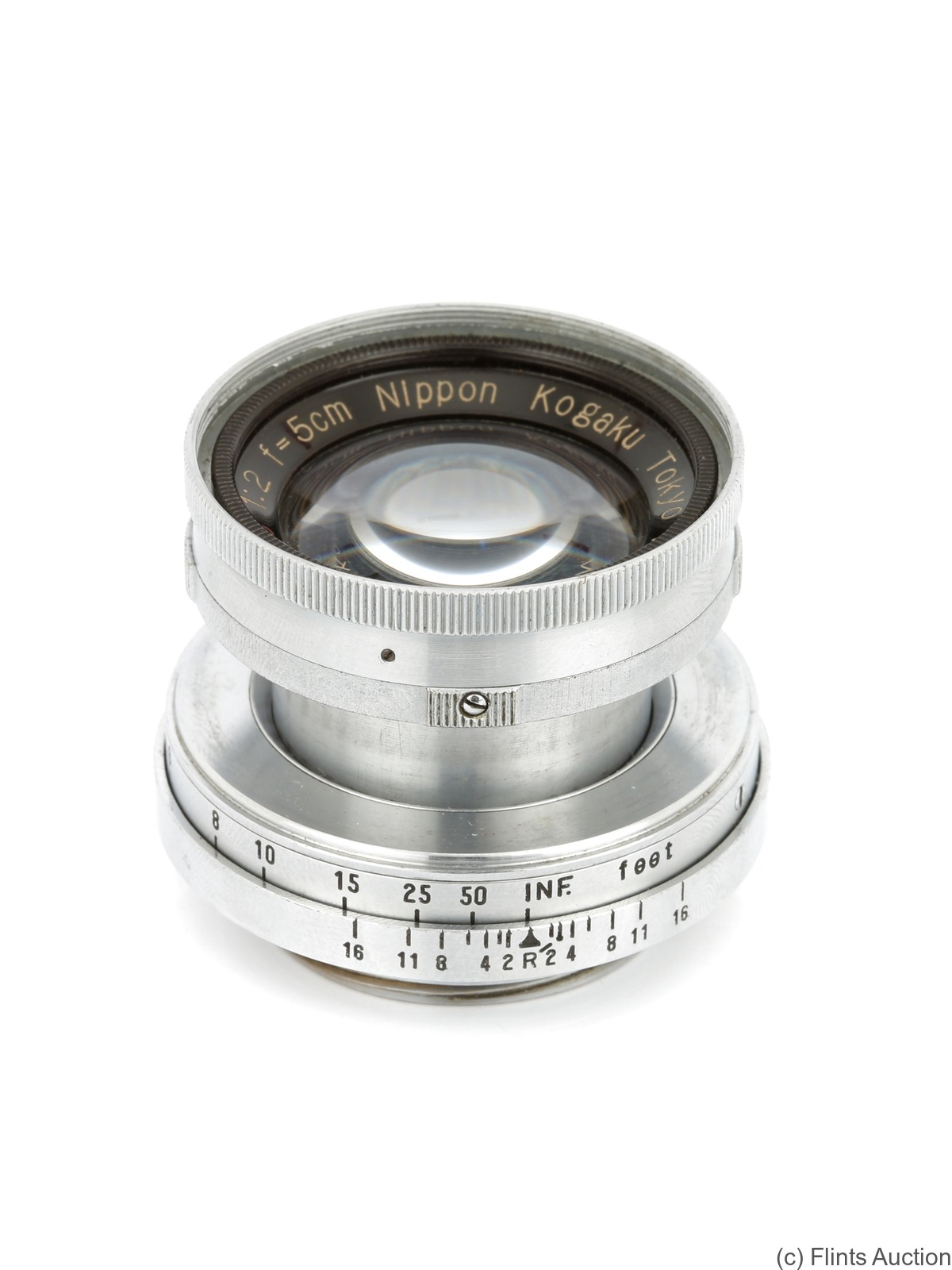 Nikon: 50mm (5cm) f2 Nikkor-H.C (M39, collapsible) camera