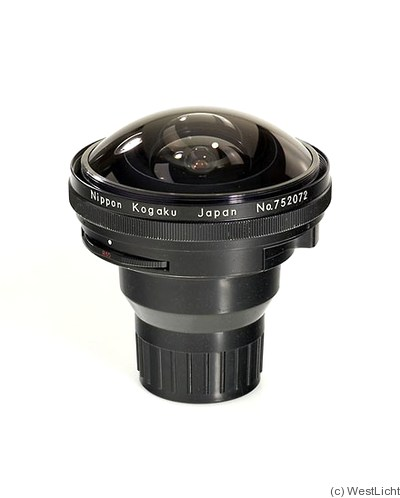 Nikon: 7.5mm f5.6 Fisheye-Nikkor camera
