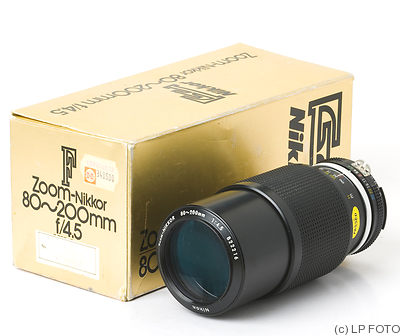 Nikon: 80-200mm f4.5 Nikkor (AIS) camera