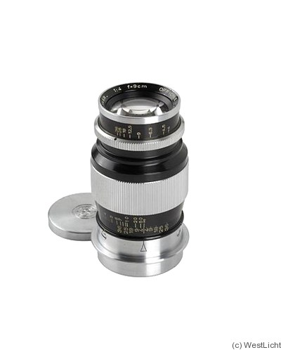 Officine Galileo: 90mm (9cm) f4 Ogmar (M39) camera