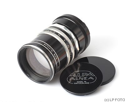Old Delft: 135mm (13.5cm) f3.2 Alpa Algular camera