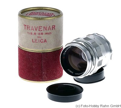 Schacht: 85mm (8.5cm) f2.8 Travenar (M39) camera
