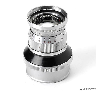 Schneider: 180mm (18cm) f5.5 Tele-Xenar (Hasselblad, chrome) camera
