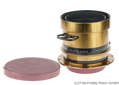 Taylor & Hobson: 15in f4.5 Cooke Portrait Anastigmat Series II.E (380mm) camera