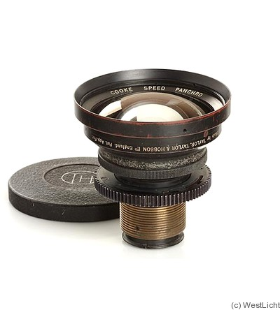 Taylor & Hobson: 18mm (1.8cm) f1.7 Cooke Speed Panchro camera
