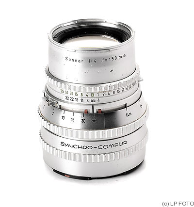 Zeiss, Carl: 150mm (15cm) f4 Sonnar C (Hasselblad, chrome) camera