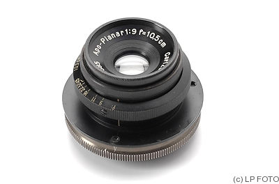 Zeiss, Carl Jena: 105mm (10.5cm) f9 Apo-Planar (M39) camera