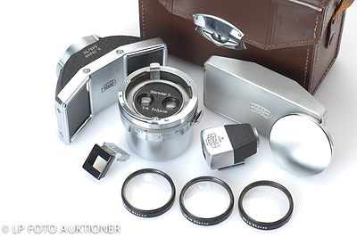 Zeiss Ikon: 35mm (3.5cm) f4 Stereotar C (for Contax, set) camera